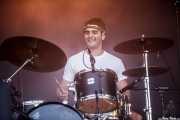 Asier Elias, baterista de Mocker's (Mundaka Festival, Mundaka, 2016)