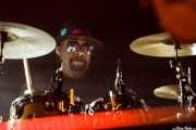 Prez Jjay, baterista de Nik West (Mundaka Festival, Mundaka, 2016)