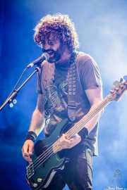 David González, bajista de Berri Txarrak (Mundaka Festival, Mundaka, 2016)