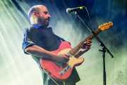 Josele Santiago, cantante y guitarrista de Los Enemigos (Mundaka Festival, Mundaka, 2016)