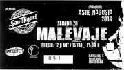 Entrada de Malevaje (Satélite T, Bilbao, )