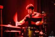 Rafa Bataglia, baterista de Viva Bazooka (Kremlin Aretoa, Bilbao, 2016)