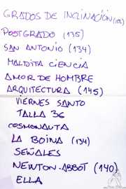 Setlist de Gerente (Bilborock, Bilbao, 2016)