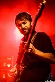 Jasper Verhulst, bajista de Jacco Gardner (Sala Stage Live (Back&Stage), Bilbao, 2016)