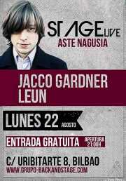 Cartel de Jacco Gardner y Leun (Sala Stage Live (Back&Stage), Bilbao, )