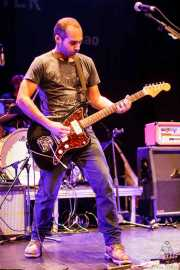 Jorge Gascón, cantante y guitarrista de Grand Matter (Bilborock, Bilbao, 2016)
