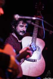 Raúl Fernández, guitarrista de Pájaro (Satélite T, Bilbao, 2016)