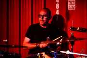 Toño López, baterista de Hendrik Röver y los Míticos GT's (Satélite T, Bilbao, 2016)