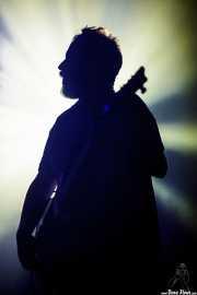 Daniel Triñanes, guitarrista de The Soulbreaker Company (Aste Nagusia - Algara Txosna, Bilbao, 2016)