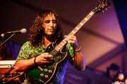 Asier Fernández, guitarrista de The Soulbreaker Company (Aste Nagusia - Algara Txosna, Bilbao, 2016)