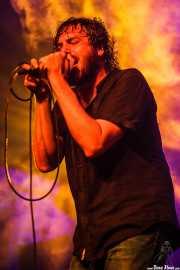 Jony Moreno, cantante de The Soulbreaker Company (Aste Nagusia - Algara Txosna, Bilbao, 2016)