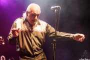 Cavan Grogan, cantante de Crazy Cavan & The Rhythm Rockers (Kafe Antzokia, Bilbao, 2016)