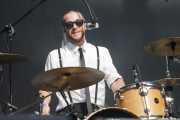 Jesse Bivona, baterista de The Interrupters (Gasteiz Calling, Vitoria-Gasteiz, 2016)