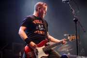 Brett Rasmussen, bajista de Ignite (Gasteiz Calling, Vitoria-Gasteiz, 2016)