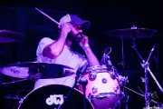 Luke Abbey, baterista de Gorilla Biscuits (Gasteiz Calling, Vitoria-Gasteiz, 2016)