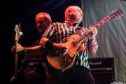 Steve Burgess -bajo- y Mick Beaufoy -guitarra- de Cock Sparrer (Gasteiz Calling, Vitoria-Gasteiz, 2016)