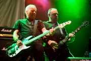 Steve Burgess -bajo- y Daryl Smith -guitarra- de Cock Sparrer (Gasteiz Calling, Vitoria-Gasteiz, 2016)