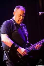 Daryl Smith, guitarrista de Cock Sparrer (Gasteiz Calling, Vitoria-Gasteiz, 2016)