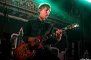 """Knut Schreiner """"Euroboy"""", guitarrista de Turbonegro (Gasteiz Calling, Vitoria-Gasteiz, 2016)"""
