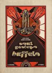 Cartel de Buffalo y Soul Gestapo (Diseño: Aitor Ochoa) (Sala Azkena, Bilbao, )