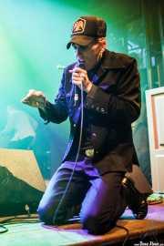 "Jay Munly ""Munly Munly"", cantante, banjista y guitarrista de Slim Cessna's Auto Club (Kafe Antzokia, Bilbao, 2016)"
