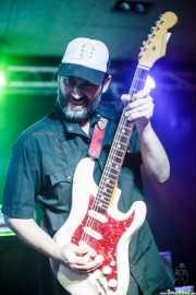 Daniel Bañón, guitarrista de Th' Booty Hunters (Santana 27, Bilbao, 2016)