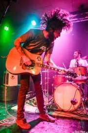 Matt Horan -voz y guitarra- y Danel Tralara -baterista- de Dead Bronco (Santana 27, Bilbao, 2016)