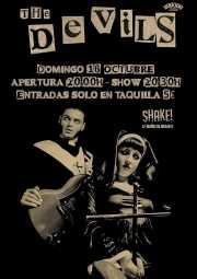 Cartel de The Devils (Shake!, Bilbao, )