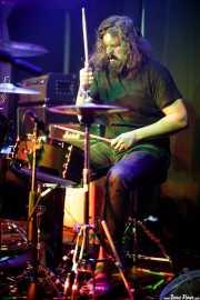 Allan Carson, baterista de Brother Hawk (Kafe Antzokia, Bilbao, 2016)