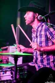 "Roberto Lozano ""Loza"", baterista de Deke Dickerson & The Sex-Phonics (Kafe Antzokia, Bilbao, 2016)"