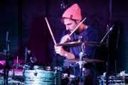 Kaj van Driel, baterista de The Cosmic Carnival (La Ribera, Bilbao, 2016)