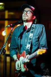 Frank Schalkwijk, guitarrista de The Cosmic Carnival (La Ribera, Bilbao, 2016)
