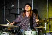 """Joost """"Sheik"""" van Dyck, baterista de My Baby (BIME festival, Barakaldo, 2016)"""