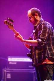 Alex Lacalle, bajista de Exnovios (BIME festival, Barakaldo, 2016)