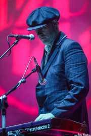 Teclista de Edwyn Collins (BIME festival, Barakaldo, 2016)