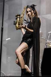 PJ Harvey, cantante y saxofonista (BIME festival, Barakaldo, 2016)