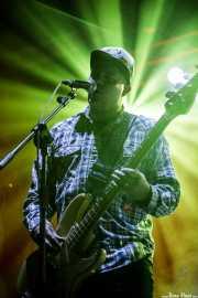 Freddy Trujillo, bajista de Richmond Fontaine (BIME festival, Barakaldo, 2016)