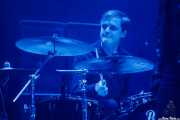 Joe Spurgeon, baterista de The Horrors (BIME festival, Barakaldo, 2016)