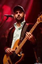 Luis Rodríguez, bajista de Nacho Vegas (BIME festival, Barakaldo, 2016)