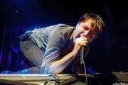 Brett Anderson, cantante de Suede (BIME festival, Barakaldo, 2016)
