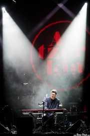 Kevin Garrett, cantante, teclista y guitarrista (BIME festival, Barakaldo, 2016)