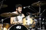 Joshua Froufe, baterista de Shinova (BIME festival, Barakaldo, 2016)