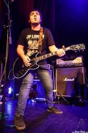 Aitz Gabiria, cantante y guitarrista de Fetitxe (Bilborock, Bilbao, 2016)