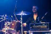 Rubén Isla, baterista de Warg (Bilborock, Bilbao, 2016)