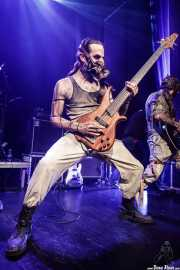 Psycho -bajo- y Anxxiet -guitarra- de Insaniam (Bilborock, Bilbao, 2016)