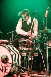 Guillaume Thiburs, baterista y cantante de I Me Mine (Bilborock, Bilbao, 2016)