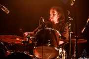Marc López, baterista de The Zephyr Bones (Bilborock, Bilbao, 2016)