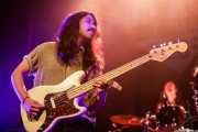 Nicolas Letelier -bajo- y Marc López -batería- de The Zephyr Bones (Bilborock, Bilbao, 2016)