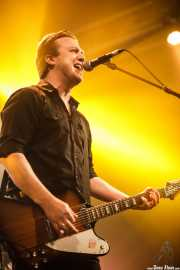 Luis Kleiser, cantante y guitarrista de The Kleejoss Band (Santana 27, Bilbao, 2016)
