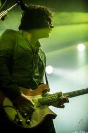 Jorge Colldan, guitarrista de Kurt Baker Combo (Santana 27, Bilbao, 2016)